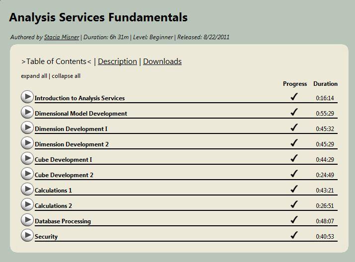 SQL SERVER - Learning SSAS (SQL Server Analysis Services) Online in 6 Hours - Top Down Designing and Bottom Up Designing myssaslearning