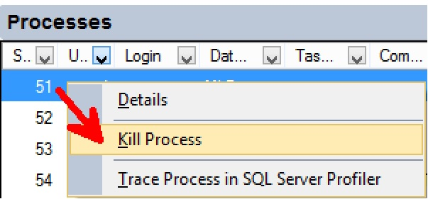 SQL SERVER - Activity Monitor to Identify Blocking - Find Expensive Queries 02-activity-monitor