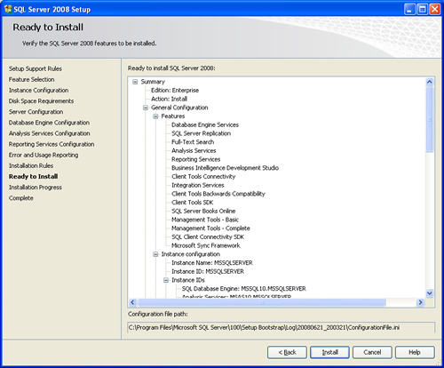 SQL SERVER - 2008 - Step By Step Installation Guide With Images 200820