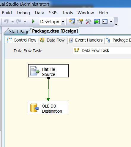 SQL SERVER - Import CSV File into Database Table Using SSIS import16