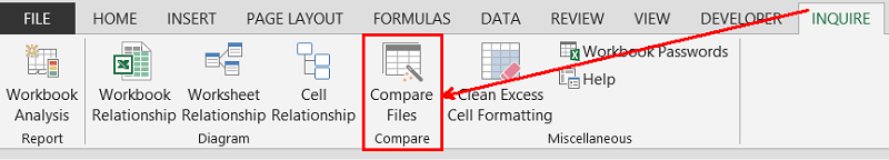 Personal Technology - Excel Tip: Comparing Excel Files ConmpareFiles-01