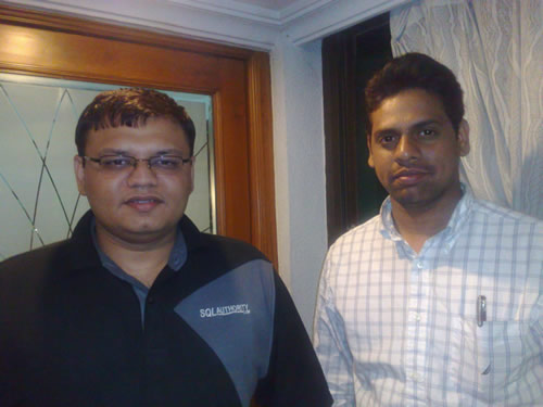 SQLAuthority News - Meeting SQL Expert Imran at Hyderabad Imran