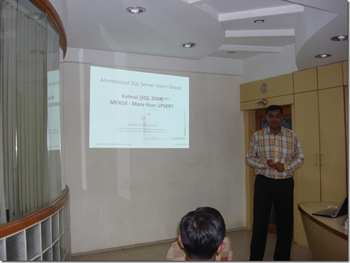 SQLAuthority News - SQLAuthority News - Ahmedabad User Group Meeting January 17 2009 - Review ImranJan2009