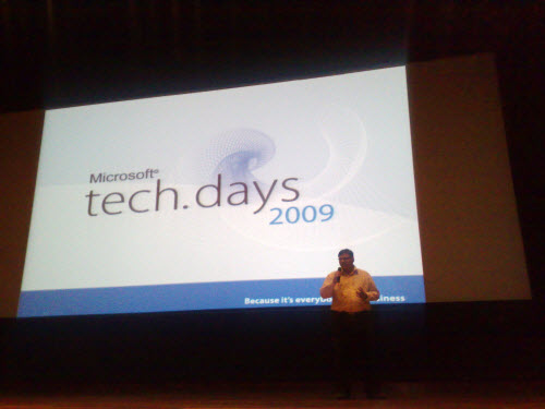 SQLAuthority News - TechDays Session at Infosys Mysore 2009 - Change Data Capture and PowerPivot infosys0
