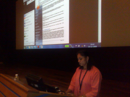 SQLAuthority News - TechDays Session at Infosys Mysore 2009 - Change Data Capture and PowerPivot infosys4