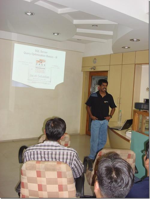SQLAuthority News - SQLAuthority News - Ahmedabad User Group Meeting January 17 2009 - Review JacobJan2009