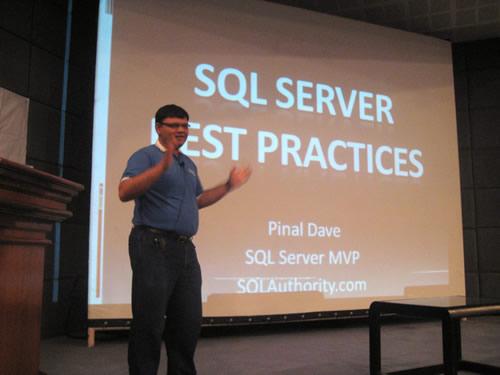 SQLAuthority News - Authors Visit - K-MUG TechEd Trivandrum on June 27, 2009 K-mug1