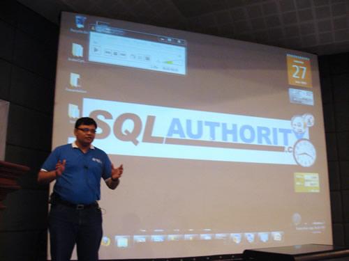 SQLAuthority News - Authors Visit - K-MUG TechEd Trivandrum on June 27, 2009 K-mug2