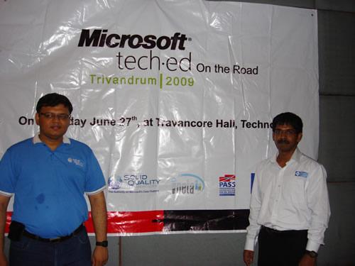 SQLAuthority News - Authors Visit - K-MUG TechEd Trivandrum on June 27, 2009 K-mug5