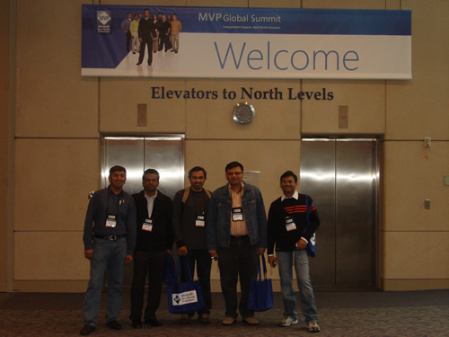 SQLAuthority News - Author Visit - South Asian MVPs at Global MVP Summit 2009 DSC03362