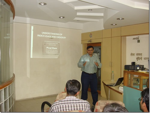 SQLAuthority News - SQLAuthority News - Ahmedabad User Group Meeting January 17 2009 - Review PinalJan2009