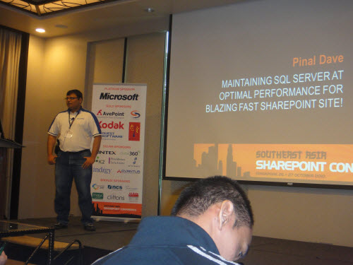 SQLAuthority News – Presenting at South East Asia SharePoint Conference – Oct 26, 27, 2010 – Singapore SharePointConference (1)