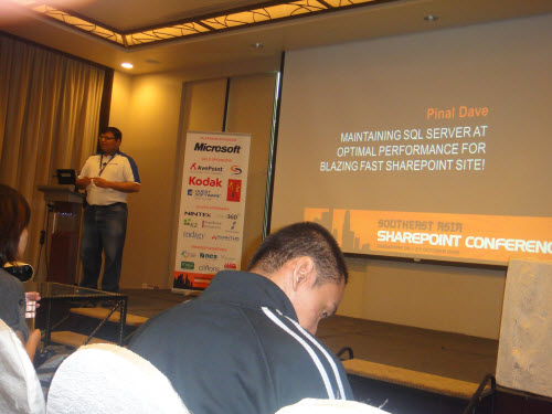 SQLAuthority News – Presenting at South East Asia SharePoint Conference – Oct 26, 27, 2010 – Singapore SharePointConference (2)
