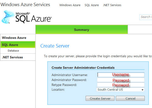 SQL SERVER - Azure Start Guide - Step by Step Installation Guide sqlazure4