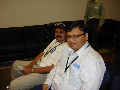 SQLAuthority News - TechEd India 2009 - Day 2 - In-Person Meeting with Industry Leaders - Community Party DSC04083