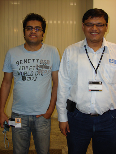 SQLAuthority News - TechEd India 2009 - Day 2 - In-Person Meeting with Industry Leaders - Community Party DSC04097