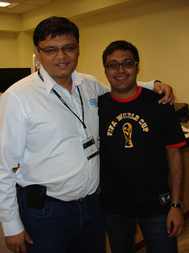 SQLAuthority News - TechEd India 2009 - Day 2 - In-Person Meeting with Industry Leaders - Community Party DSC04098