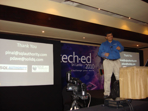 SQLAuthority News - Excellent Event - TechEd Sri Lanka - Feb 8, 2010 TechEd SriLanka (6)