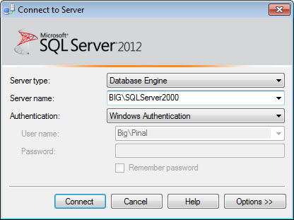 SQL SERVER - How to Hide Yourself from SQL Server? - Guest Post by Balmukund Lakhani advanceconnection3