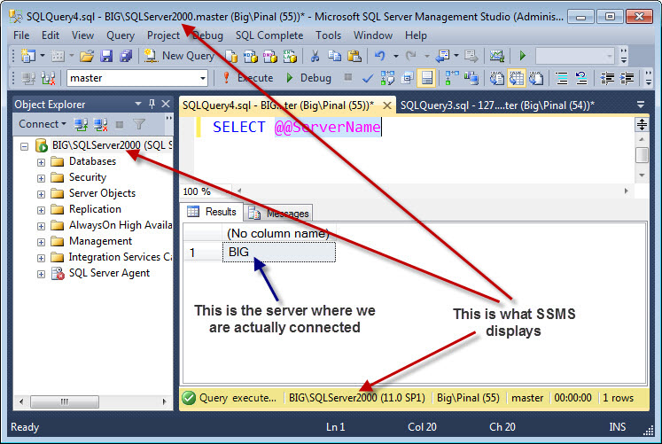 SQL SERVER - How to Hide Yourself from SQL Server? - Guest Post by Balmukund Lakhani advanceconnection5