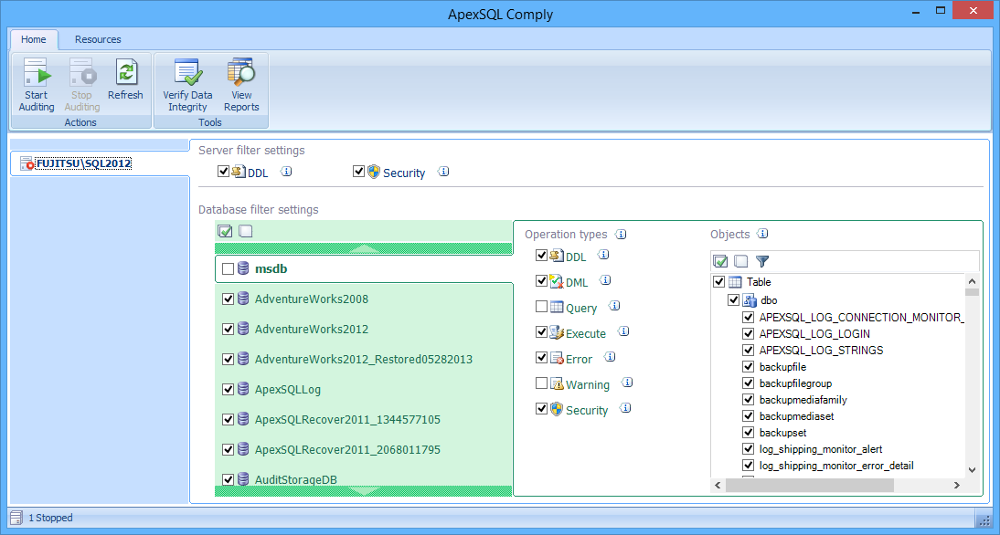 SQL SERVER - Auditing and Profiling Database Made Easy with ApexSQL Trigger and ApexSQL Audit image019