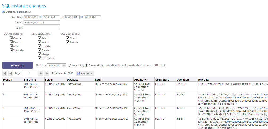SQL SERVER - Auditing and Profiling Database Made Easy with ApexSQL Trigger and ApexSQL Audit image023