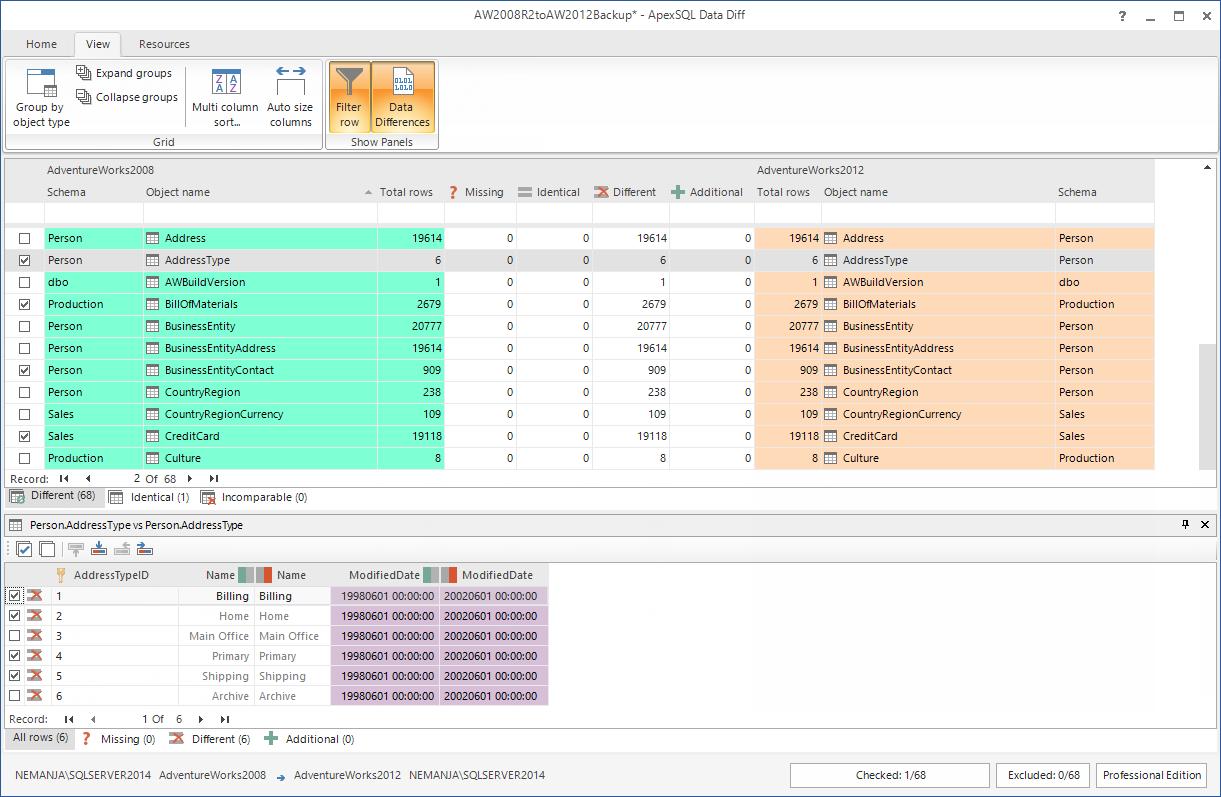 SQL SERVER - SQL Server Data Compare Tool 12