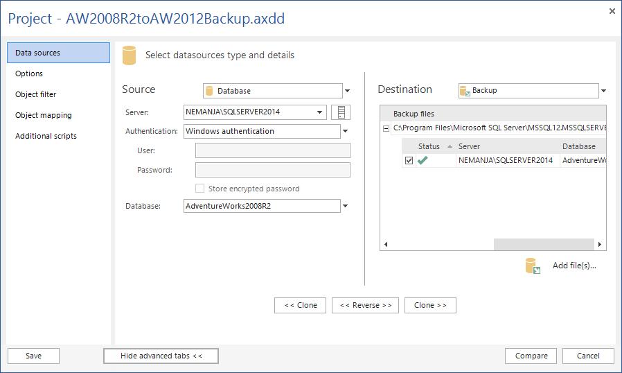 SQL SERVER - SQL Server Data Compare Tool 2