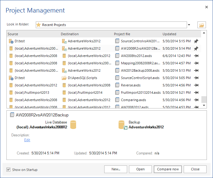SQL SERVER - SQL Server Schema Compare Tool image001