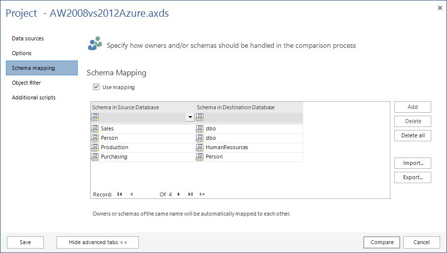 SQL SERVER - SQL Server Schema Compare Tool image006