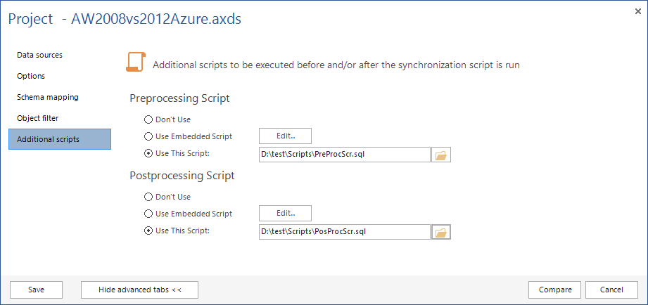 SQL SERVER - SQL Server Schema Compare Tool image009