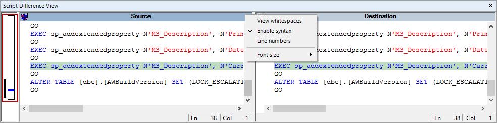 SQL SERVER - SQL Server Schema Compare Tool image012
