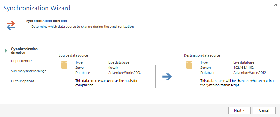 SQL SERVER - SQL Server Schema Compare Tool image014