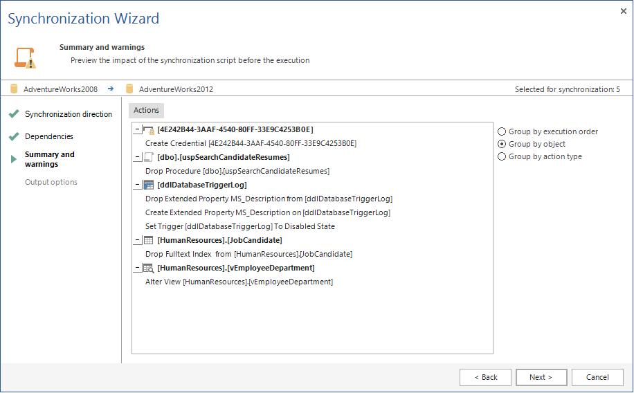 SQL SERVER - SQL Server Schema Compare Tool image015