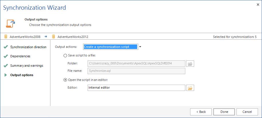SQL SERVER - SQL Server Schema Compare Tool image016