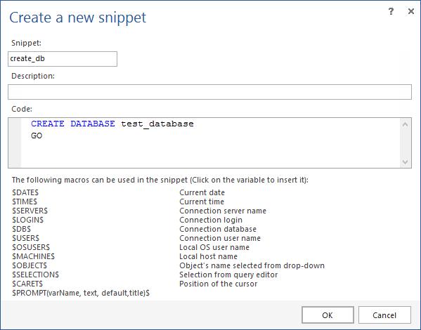 SQL SERVER – Free intellisense add-in for SSMS image013
