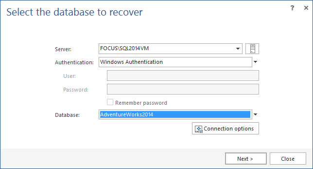 SQL SERVER - How to Recover SQL Database Data Deleted by Accident apexr3