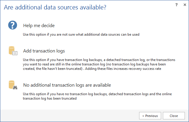 SQL SERVER - How to Recover SQL Database Data Deleted by Accident apexr4