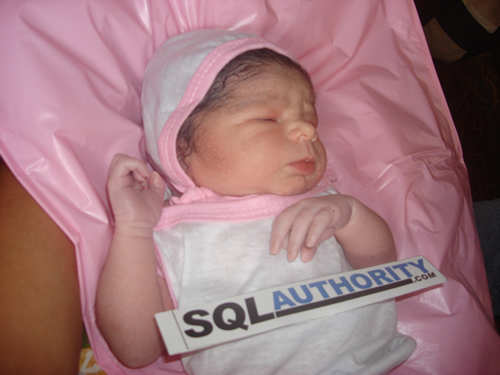 SQLAuthority News - Baby SQLAuthority is here! SQLAuthorityBaby2