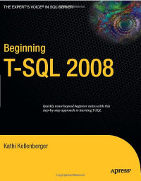 SQLAuthority News - Book Review - Beginning T-SQL 2008 by Kathi Kellenberger beginningT-SQL