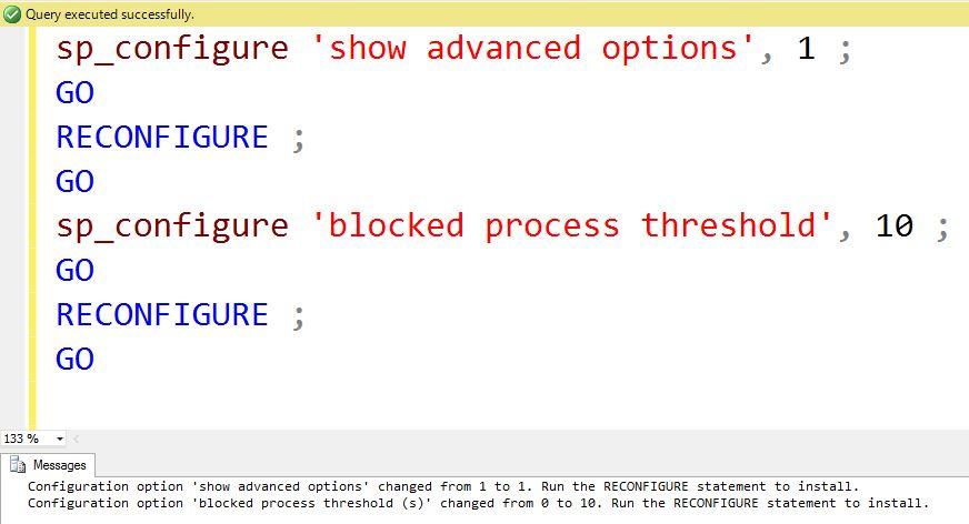 SQL SERVER - Find Blocking Using Blocked Process Threshold   blocked-process-1