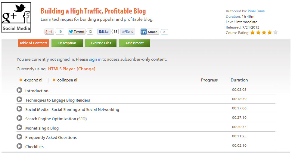 SQL - Building a High Traffic, Profitable Blog - A Unique Gift on Author's Birthday blog-profit