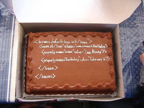SQLAuthority News - Humorous SQL Cake - Funny SQL Cake cake2
