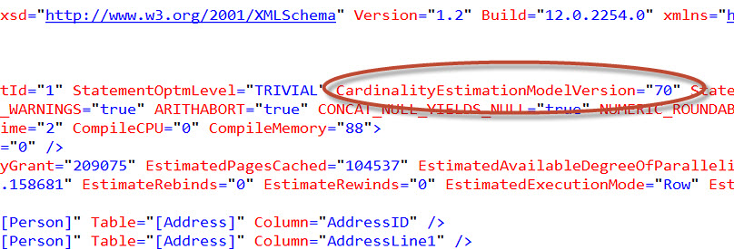 SQL SERVER - How to Know Cardinality of Executed Query? cardinalityesti2