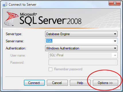 SQL SERVER - 2008 - Change Color of Status Bar of SSMS Query Editor color1