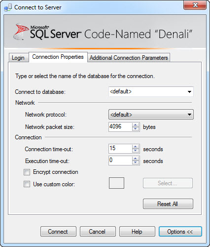 SQL SERVER - 'Denali' - A Simple Example of Contained Databases contained2