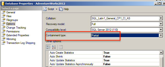 SQL SERVER - Beginning Contained Databases - Notes from the Field #037 containeddb2