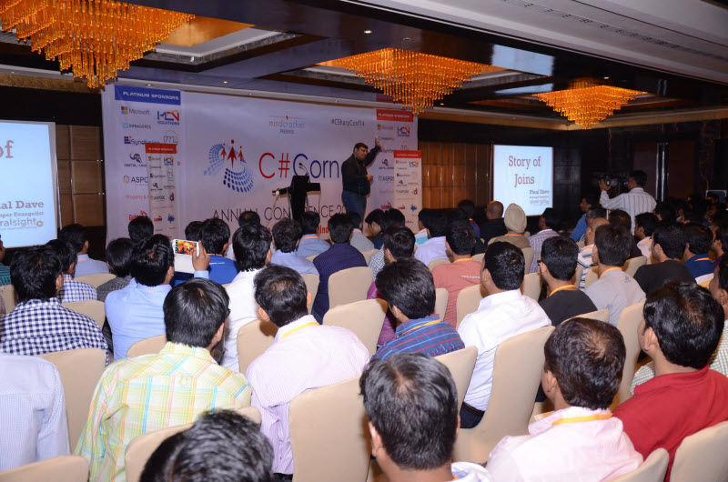 SQLAuthority News - An Amazing Event - Presented at North India's Largest Conference C Sharp Corner c-sharp%20(12)