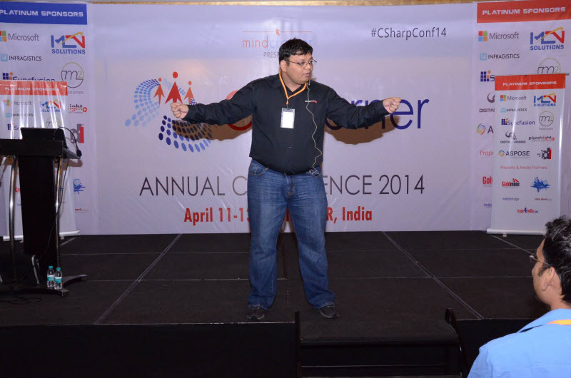 SQLAuthority News - An Amazing Event - Presented at North India's Largest Conference C Sharp Corner c-sharp%20(13)