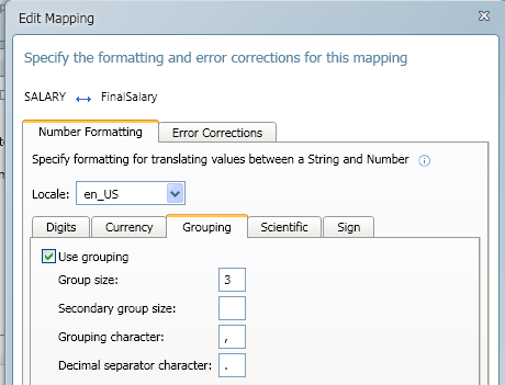 SQL SERVER - Import CSV into Database - Transferring File Content into a Database Table using CSVexpress salary_mapping2